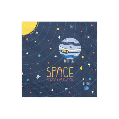 Space Adventure Napkins My Event Stylist