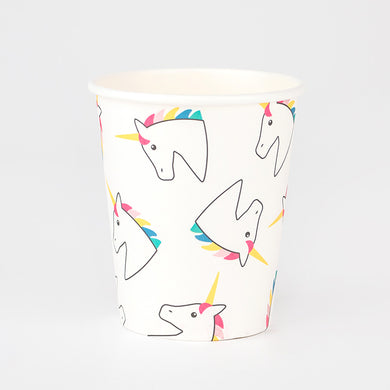 Unicorn Paper Cups From My Little Day by My Event Stylist