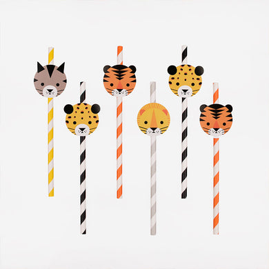 Mini Feline Straws From My Little Day By My Event Stylist