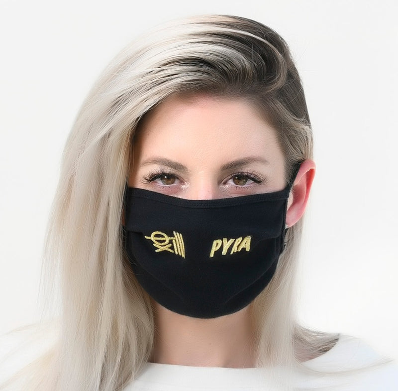 PYRA SUPPLY FaceCovering TM  (GOLD EDITION)