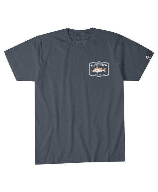 Salty Crew Snapper Mount S/S Cool Grey Tee Shirts
