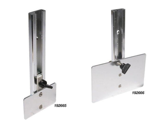 BLA Flat Alloy Sliding Transducer Brackets