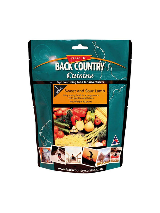 Back Country Cuisine Sweet & Sour Lamb Single Serve