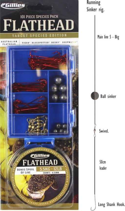 Gillies Flathead Species Pack