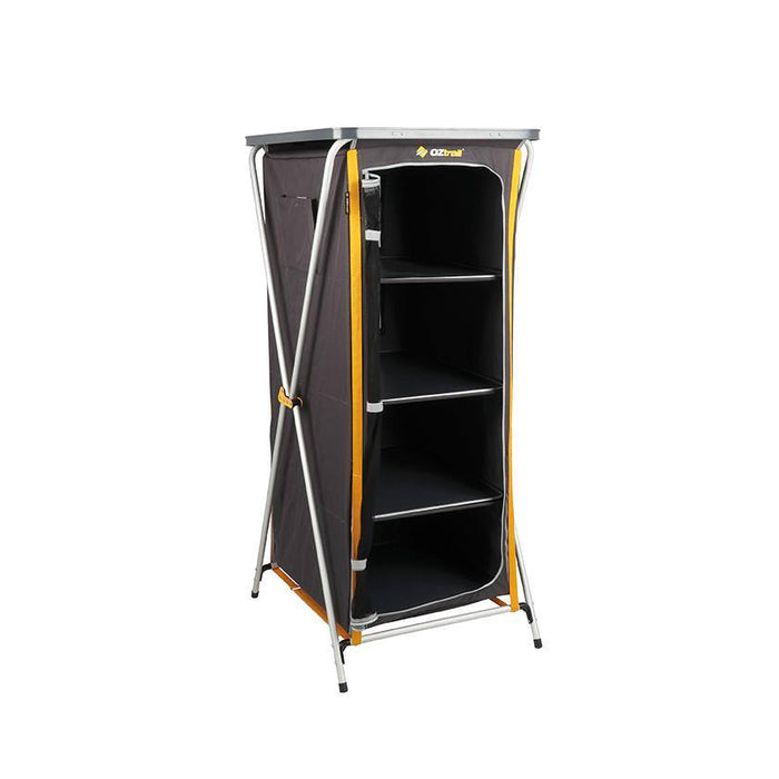 Oztrail 4 Shelf Deluxe Camp Cupboard