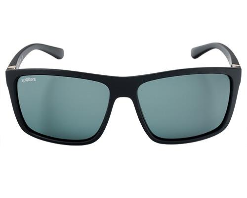 Spotters Grayson Matt Black Frame Sunglasses