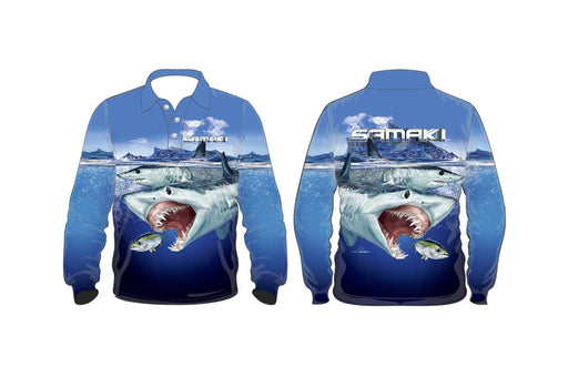 Samaki Mako Shark Jnr Fishing Shirts