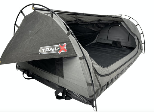 Trail-X Big Rig Deluxe Swags With 70mm Mattress & Canvas Carry Bag
