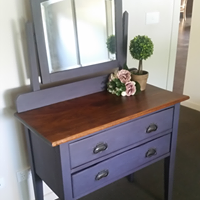 vintage dressing table - SOLD