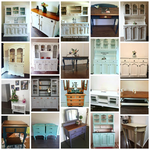 Painted furniture - Sold