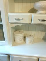 Load image into Gallery viewer, Kitchen Hutch, White Kitchen Buffet Hutch - SOLD