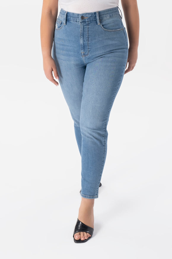 High Rise Skinny Jeans - Light Blue Wash