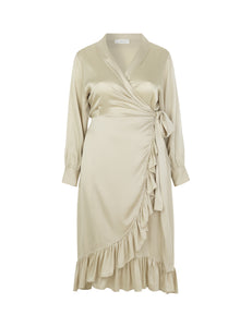 Audre Dress Beige