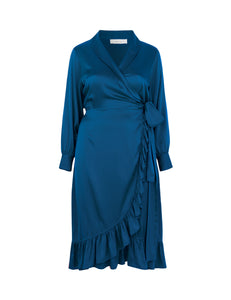 Audre Dress Blue
