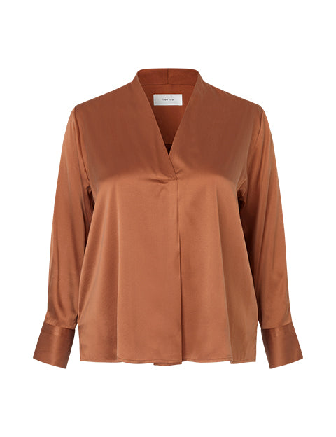 Agnes Blouse in Silk