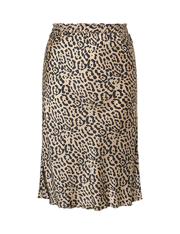 Betye Leo Skirt in Silk