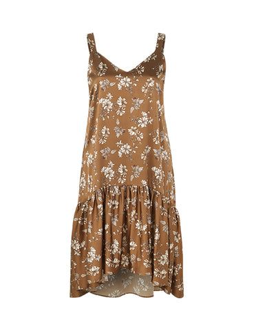Susan Dress Brown Sugar