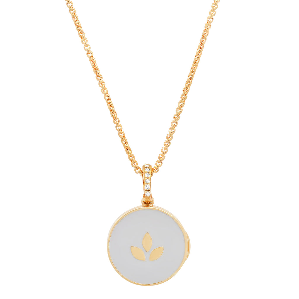 Wellness Diamond Bail Locket