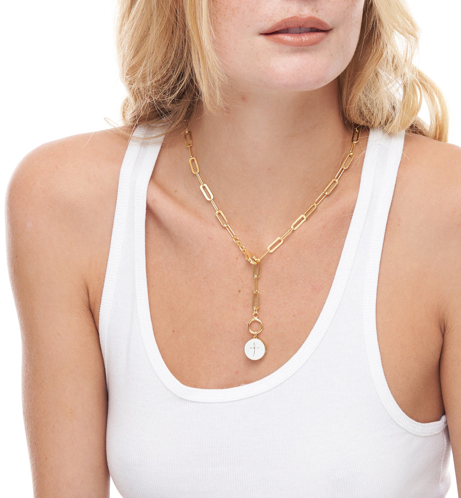 GRACE CULT LOCKET  NECKLACE
