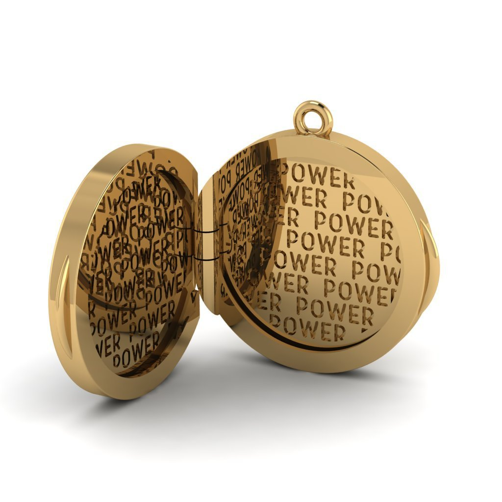 Power Locket Charm