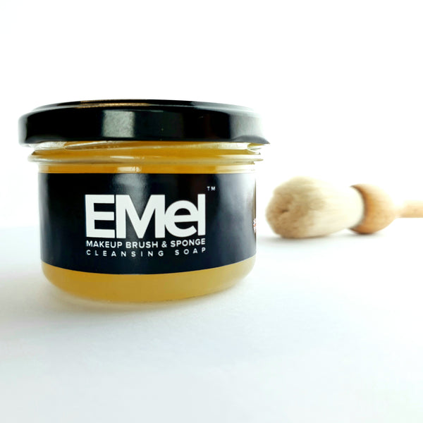 EMEL MAKE UP BRUSH & SPONGE CLEANSING SOAP