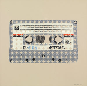 Limited Edition Cassette Silkscreen Print