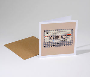 Cassette Greetings Card