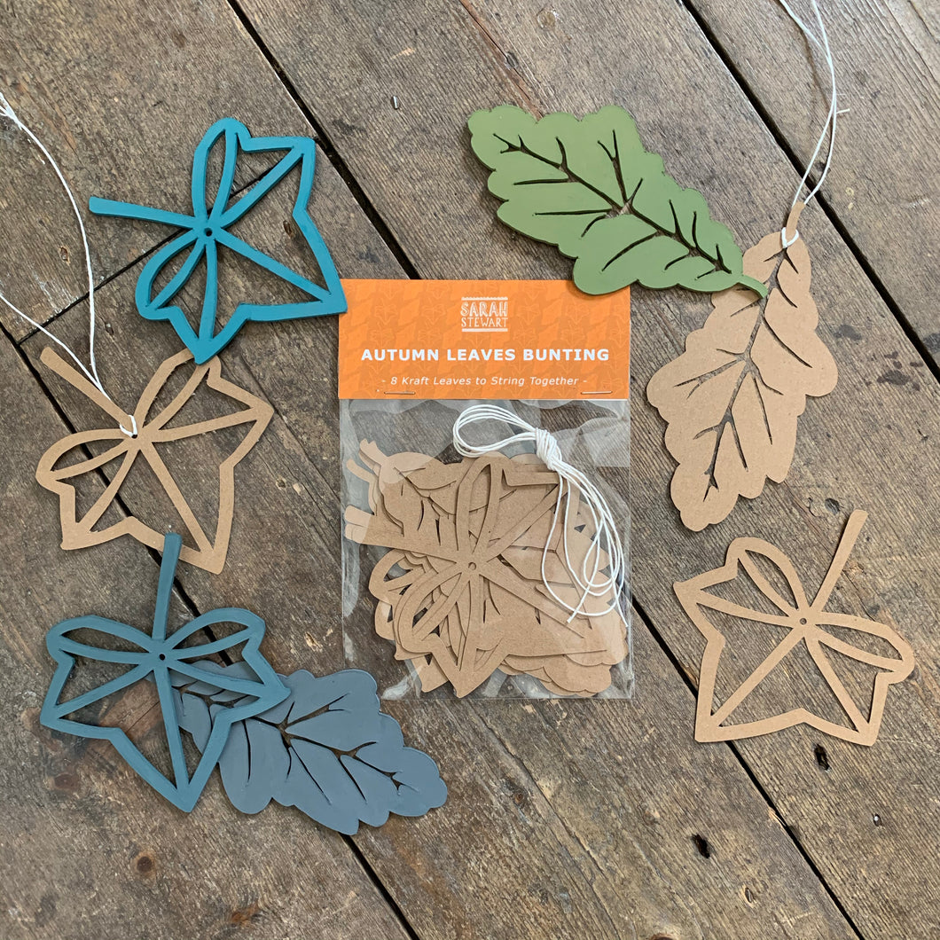 Autumn Leaves Bunting