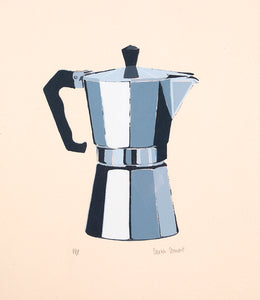 Limited Edition Moka Pot Silkscreen Print