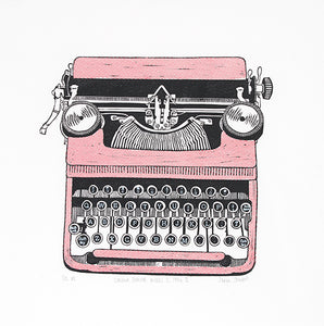 Typewriter Greetings Cards (Gift Box Set)