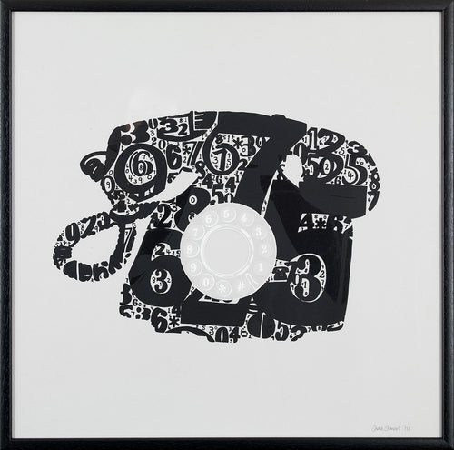 Limited Edition Telephone Silkscreen Print