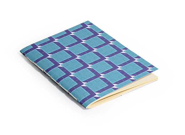 A6 Retro Notebook with Pocket
