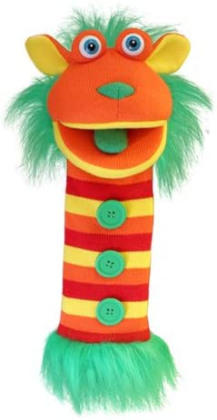 Sock Monster Hand Puppet