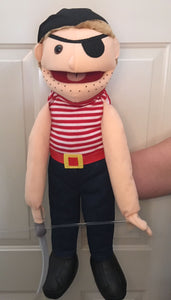 "28"" Pirate Full Body Puppet"