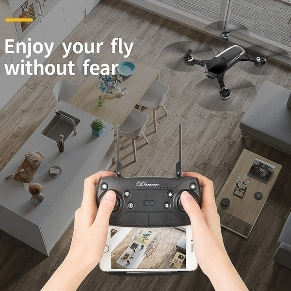 Overall Upgrade SG900 Rc Drone Folding GPS Smart Follow + Full 1080P HD FPV  Wide-Angle Camera + 360° Rotation + V-Sign + Gesture