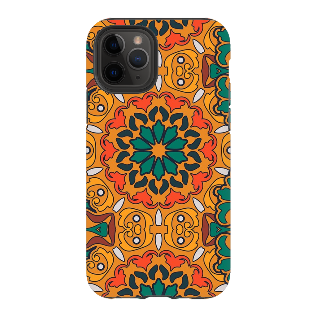Orange Flower Mandala iPhone 11 Series - Purdycase