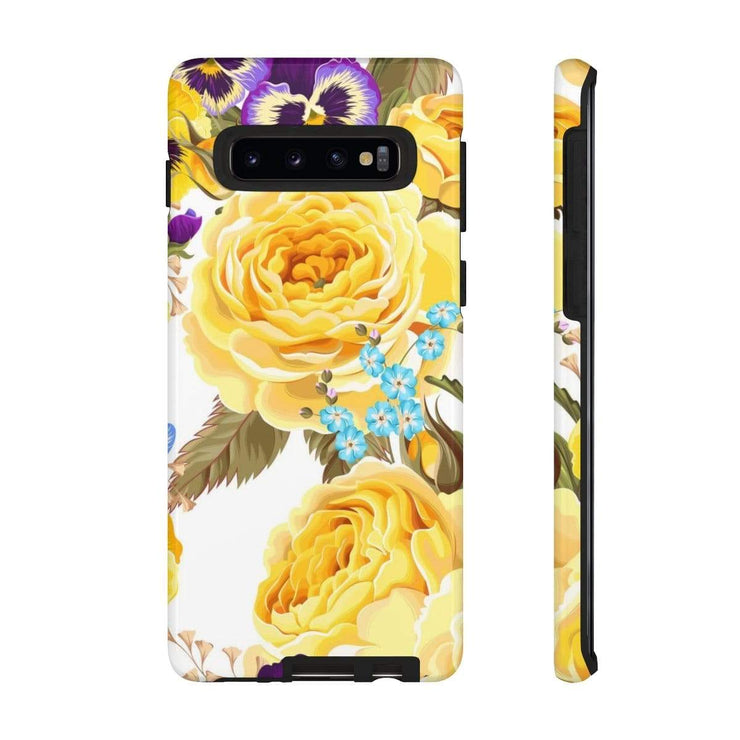 Yellow Rose Galaxy 10 Series Tough Case - Purdycase