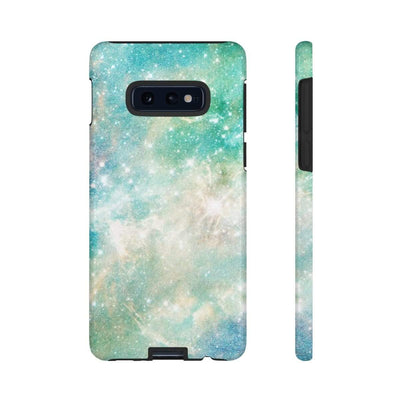Turquoise Space Galaxy 10 Series Tough Case