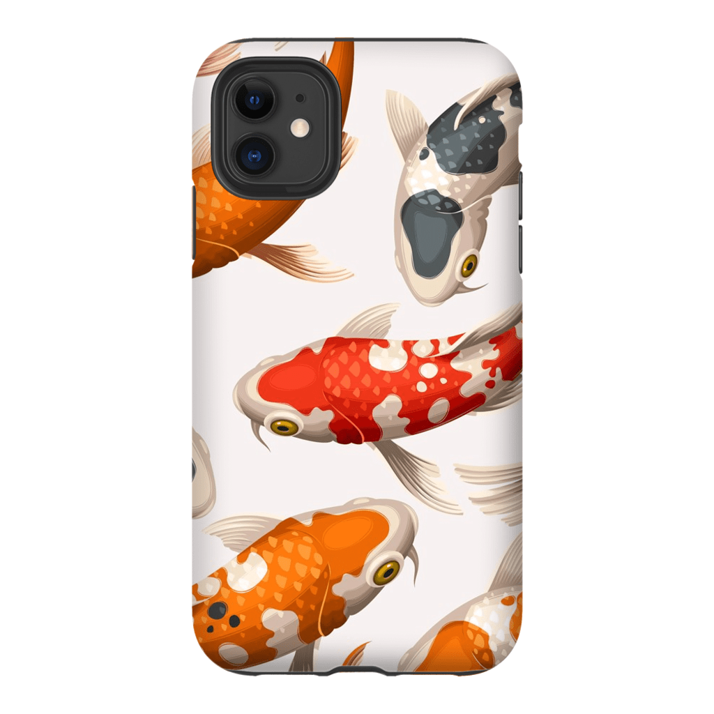 White Koi Fish iPhone 11 Series - Purdycase