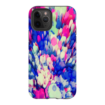 3D Multi-Color Abstract iPhone 11 Series Tough Case