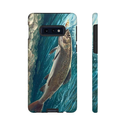 Trout Fishing Galaxy 10 Series Tough Case