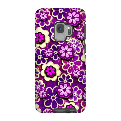 Psychedelic Pink Galaxy S6-S9 Plus Series