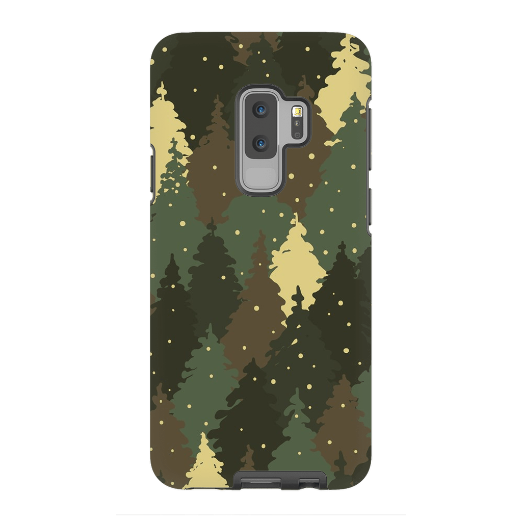 Forest Army Camo Galaxy S9 and S9 Plus Tough Case - Purdycase
