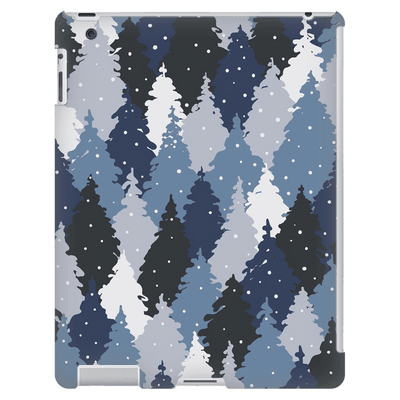 Forest Blue Camo iPad 3/4 Mini, Tablet Case