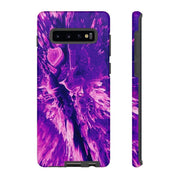 3D Texture Purple Dream Galaxy 10 Series Tough Case - Purdycase