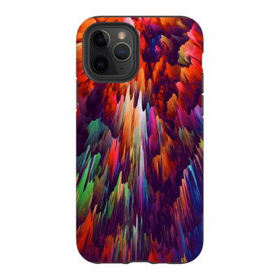 Rainbow Abstract iPhone 11 Series Tough Case