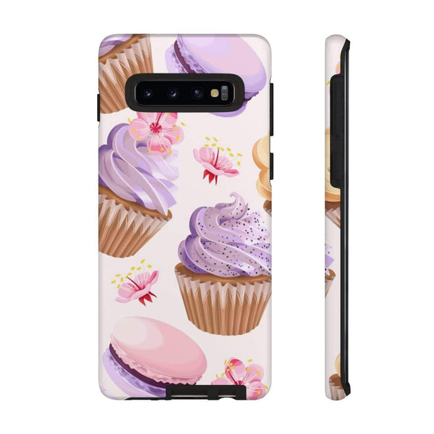 Purple Cupcake Galaxy 10 Series Tough Case