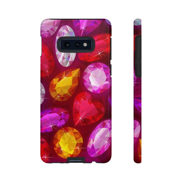 Red Gems Galaxy 10 Series Tough Case - Purdycase