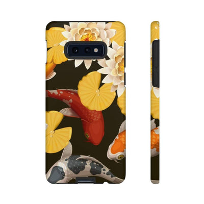 Yellow Koi Galaxy 10 Series Tough Case