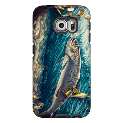 Trout Fish Galaxy S6 Edge and S6 Edge Plus Tough Case
